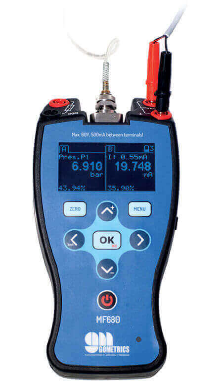 calibrador portátil multifunción MF680 Gometrics