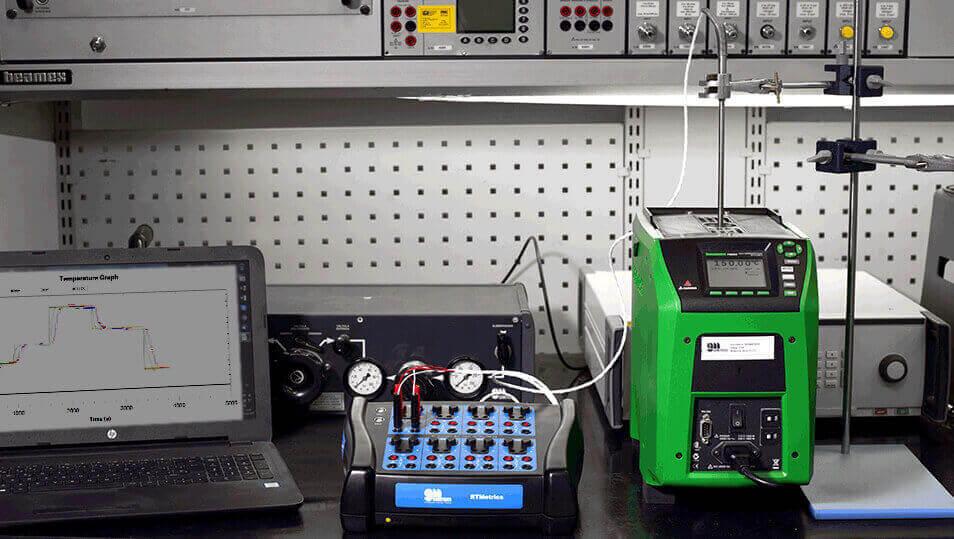 sistema de calibración T-Metrics