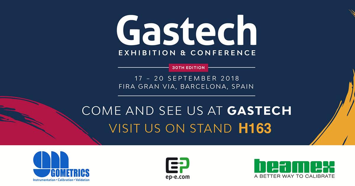 Gometrics, Beamex, EP-E Gmbh, Gastech 2018 Barcelona