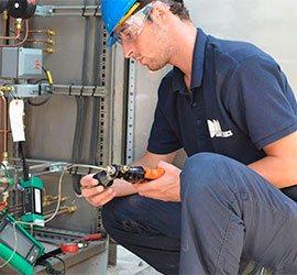 Servicios de calibración en planta
