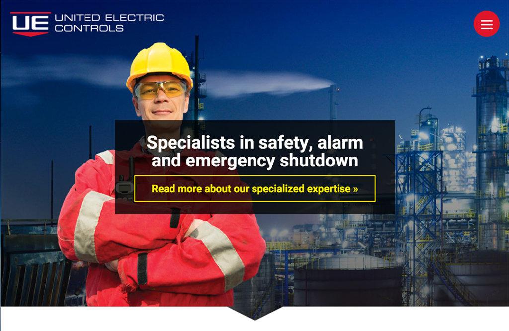 web United Electric controls